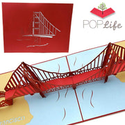 Golden Gate Bridge Pop Up Card