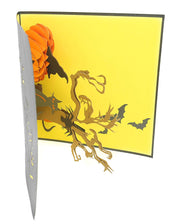 Pumpkin & Tree Halloween Pop Up Card