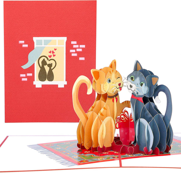 Love Kitties Pop Up Card