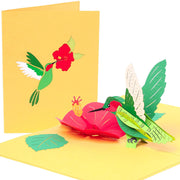 Hummingbird Pop Up Card