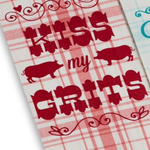 Southern Sass Printed Dishtowels