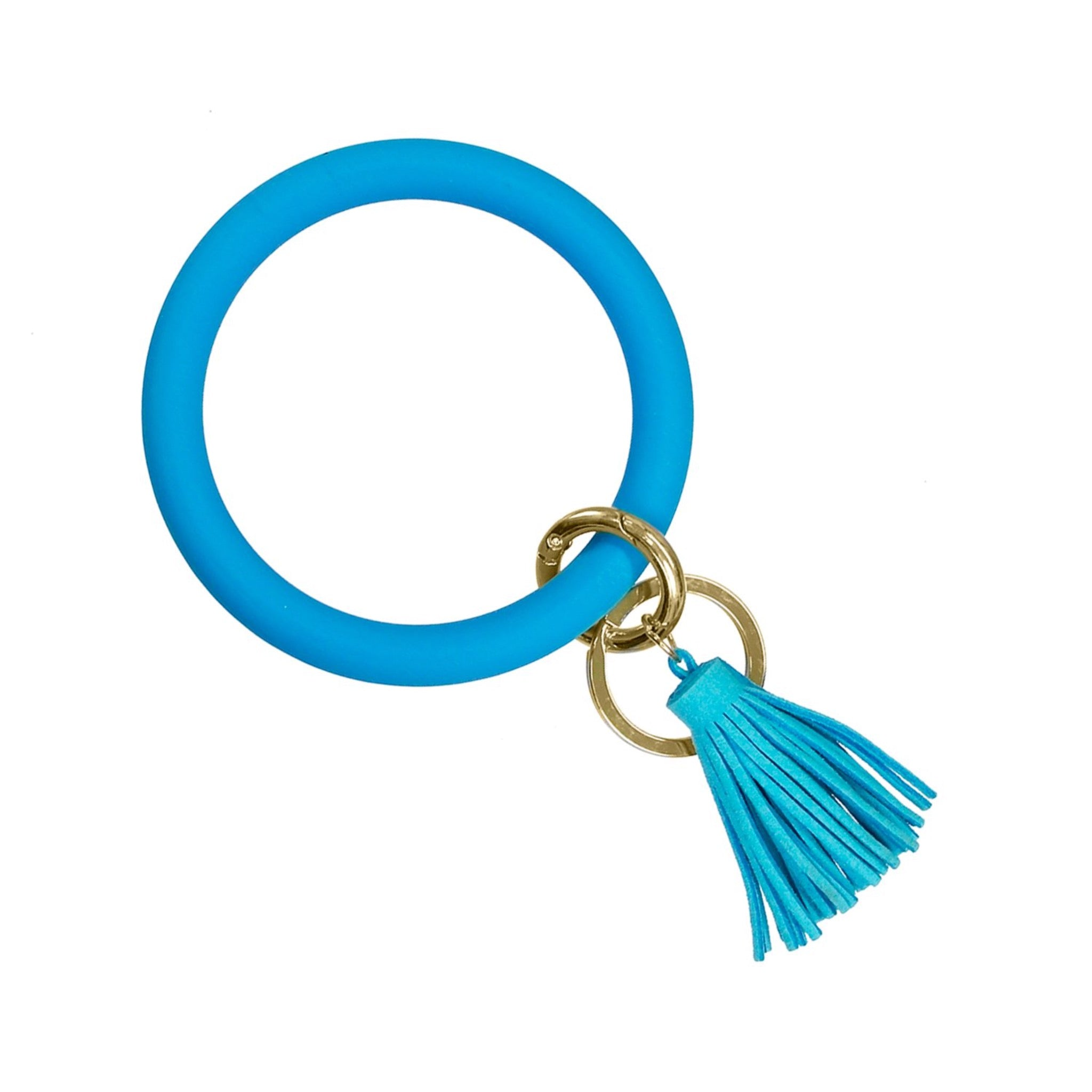 Silicone Bracelet Keyring At Roses On The Vine