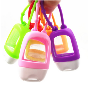 Refillable Bottle Silicone Hand Sanitizer