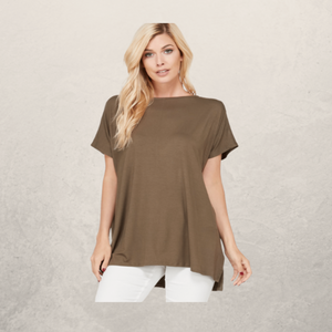 Solid Top w/ Side Slit