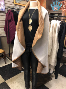 Reversible Long Cape at Roses On The Vine