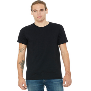 T-Shirt Solid Black Unisex