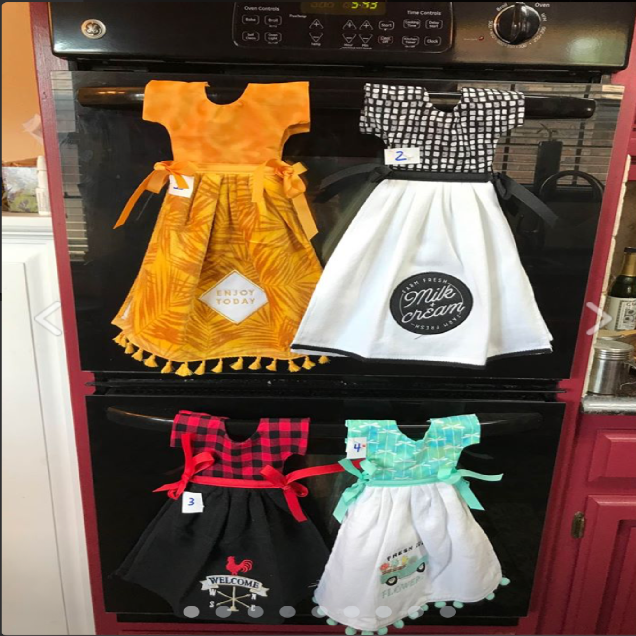 Kitchen Towels Dresses