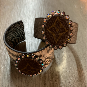 LV Up-cycled Louie Bracelets