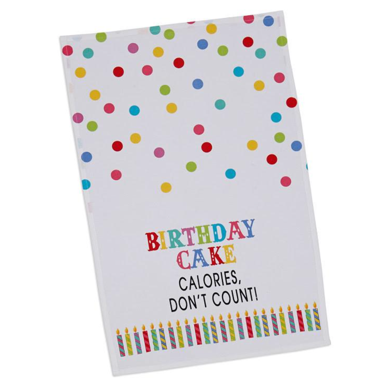 Birthday! Printed Dishtowel