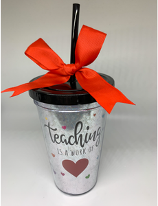 Tumblers with Fun Sayings Lid and Straw Cups
