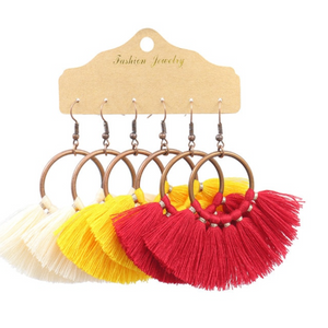3 pk Earrings