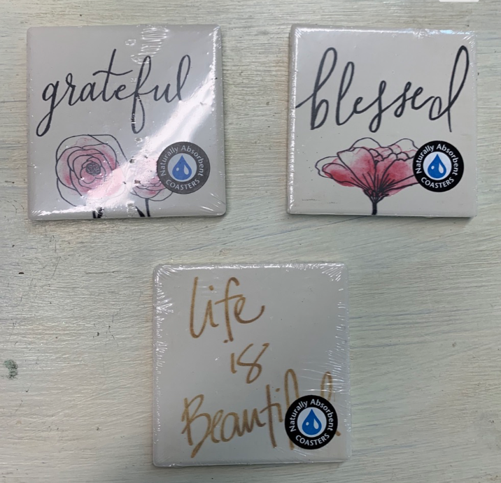 Coasters with Sayings