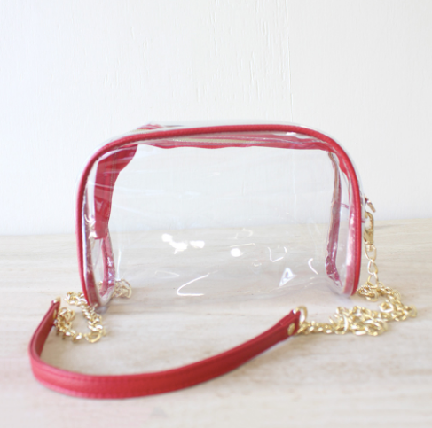 Purse - Clear Crossbody & Wristlet