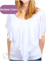 Layered Ruffle Sleeve Top by Umgee
