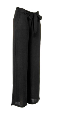 Pants Black High Waist Wide Leg