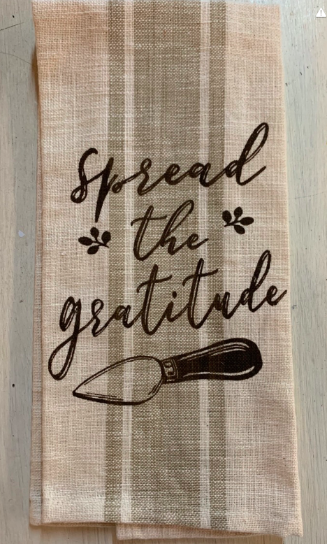 Spread the Gratitude Towel