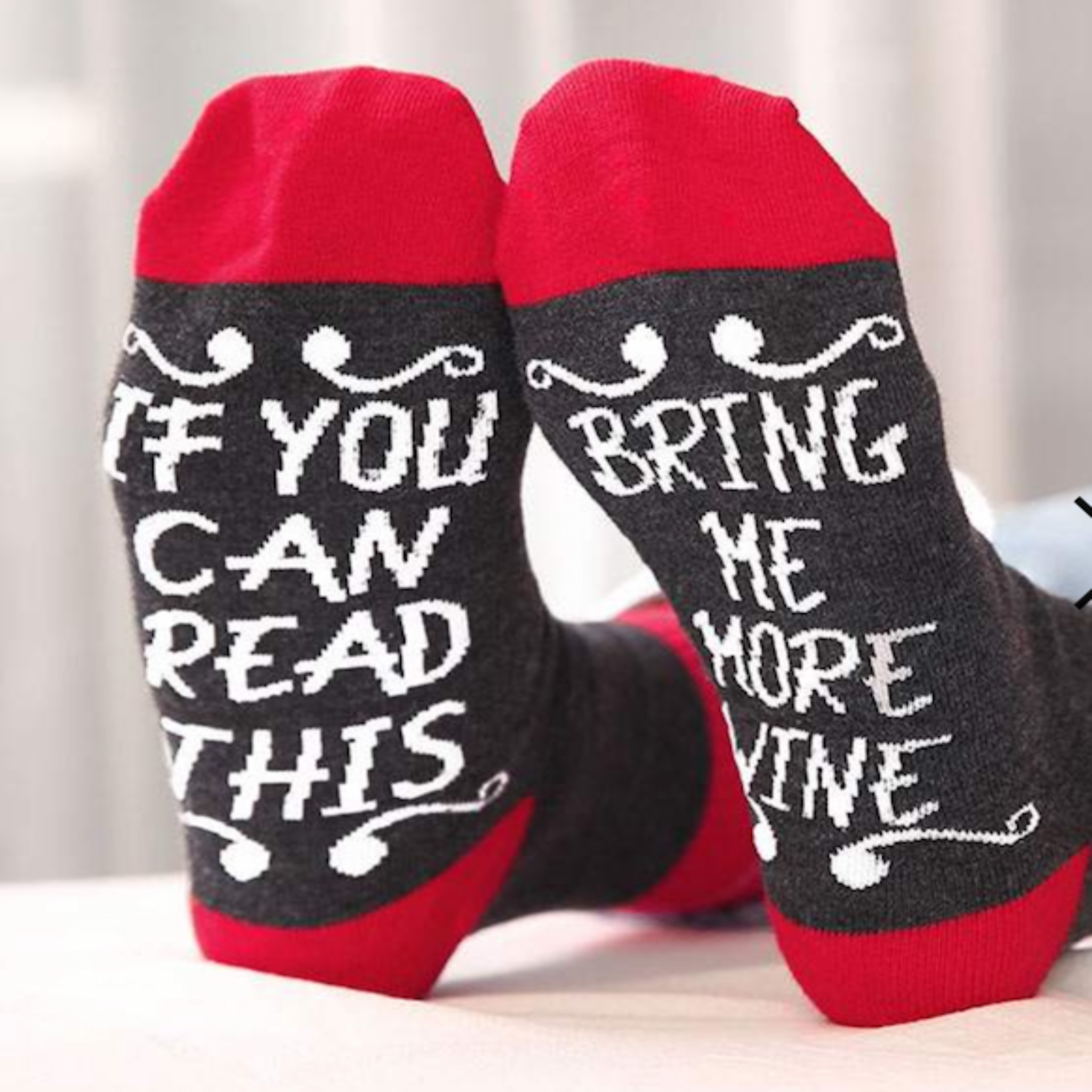 Socks w/ Sayings