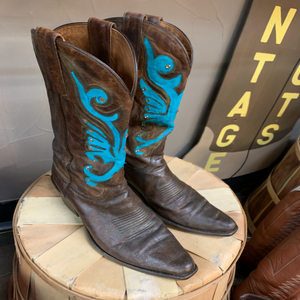 Boots Women's Teal 7.5