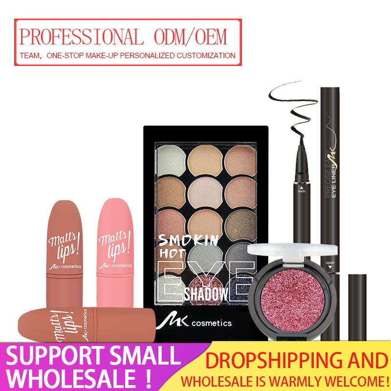 MK Professional Cosmetic Makeup Factory Support Dropshipping&Wholesale,Give Discount Professional OEM/ODM Manufacturer Team
