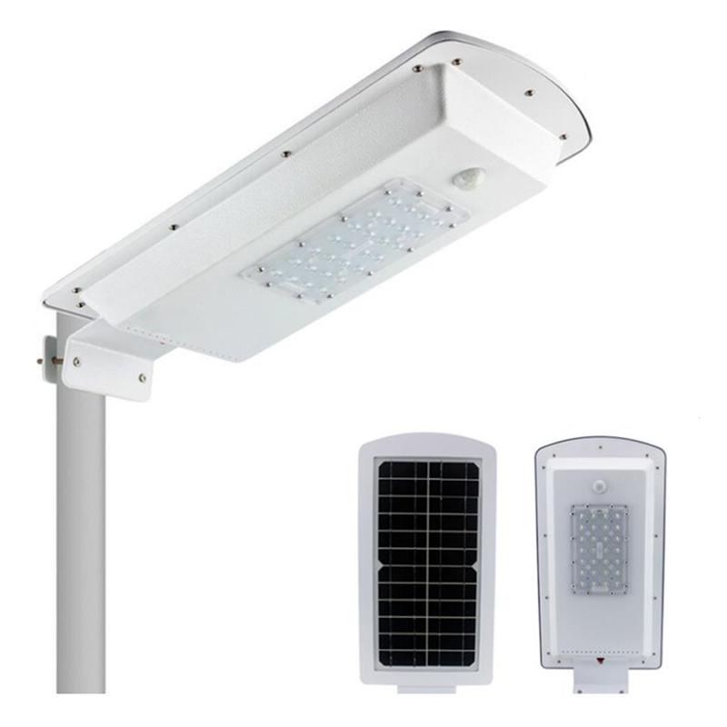 10pcs/lot IP65 outdoor water proof solar led lights time sensor control 10W 15W all in one solar led street lights