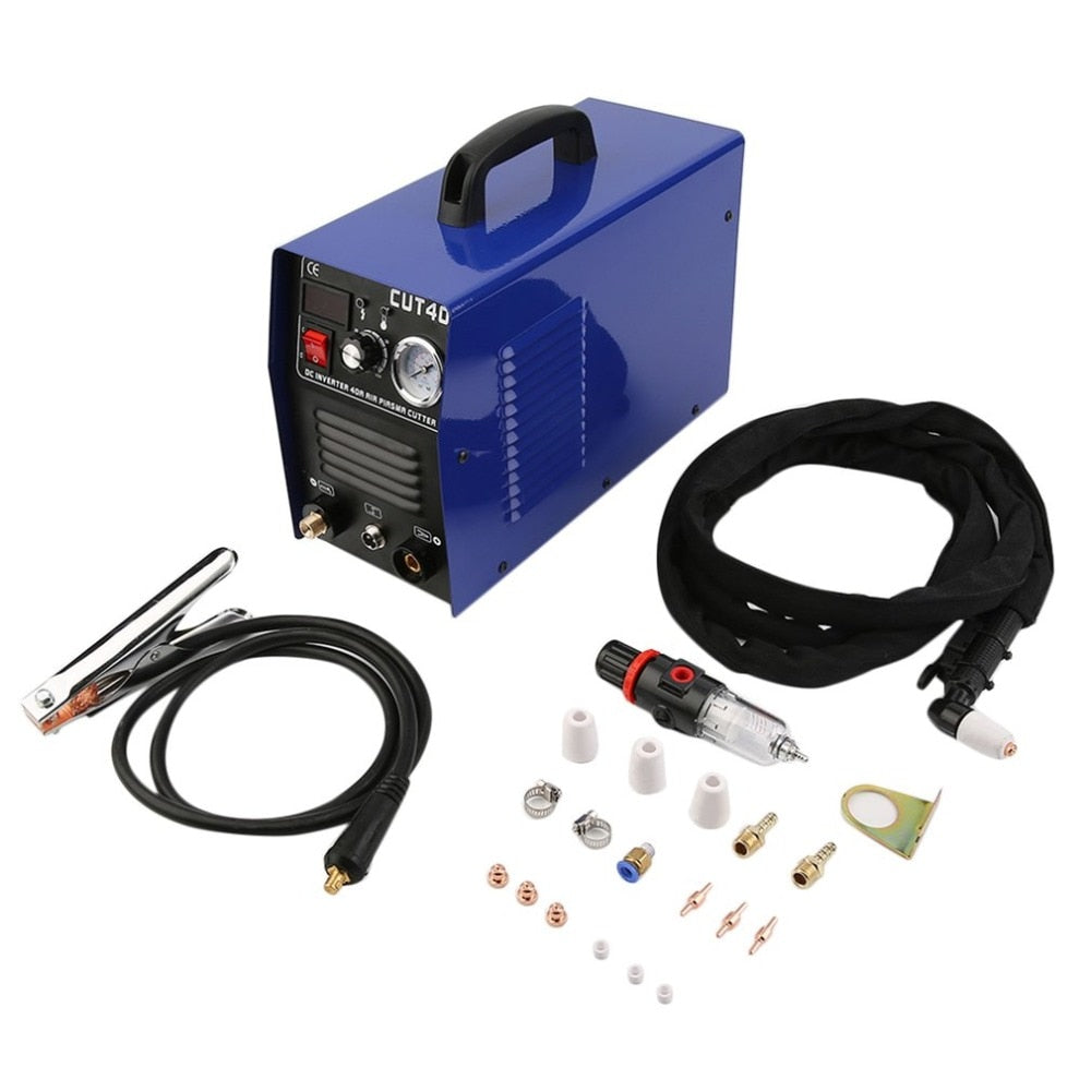 Professional 50A Inverter Digital Air Plasma Cutter Machine 220V Air Plasma Cutting Machine Cutter Welding Machine Clean Cutting