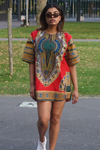 dhasiki short dress