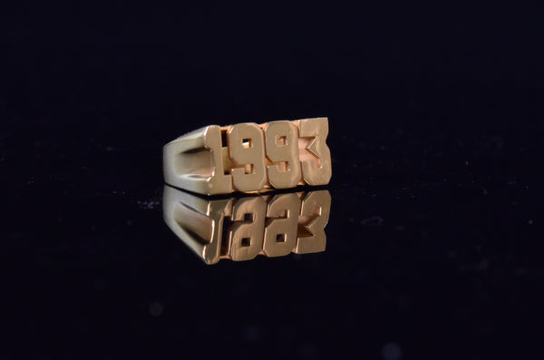 'CUSTOM YEAR RING'