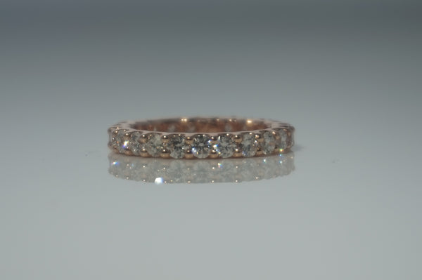 '14K GOLD ETERNITY BAND'