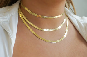 'HERRINGBONE' NECKLACE