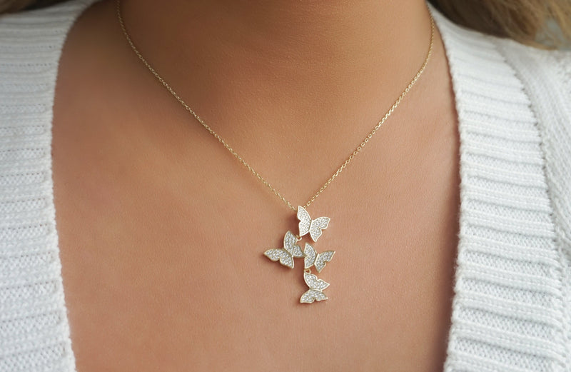 'BUTTERFLY DREAMS' NECKLACE
