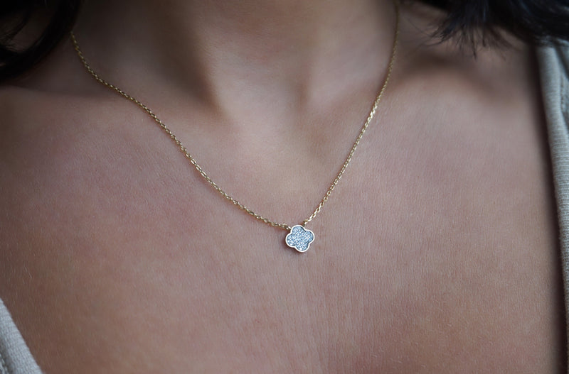 'MINI CLOVER NECKLACE'