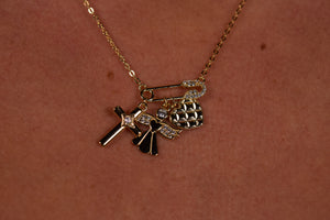 '444 ANGEL NECKLACE'