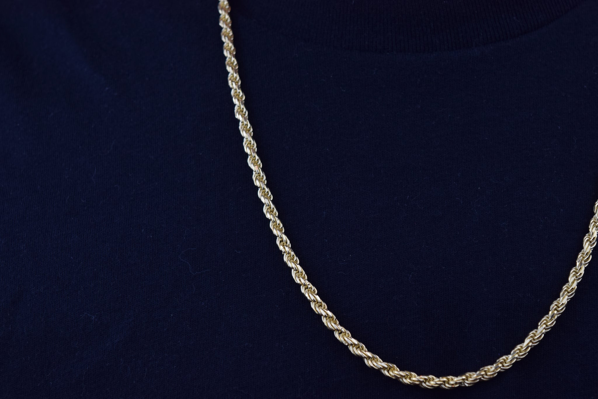 'MENS CLASSIC ROPE CHAIN'
