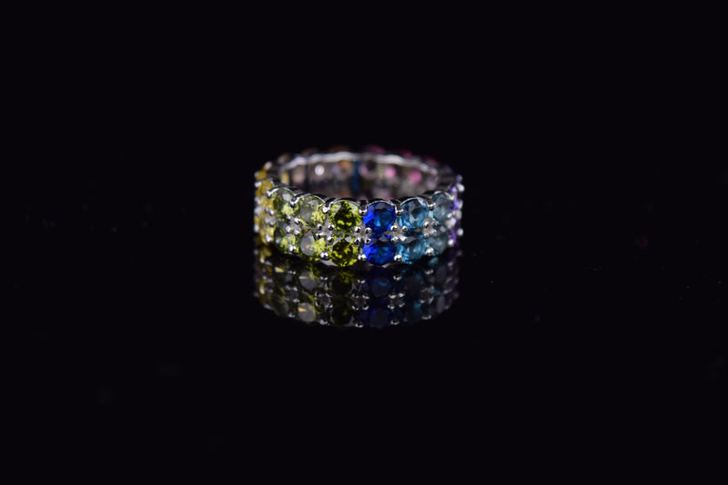 'DOUBLE RAINBOW RING' - SHOP PAIGE