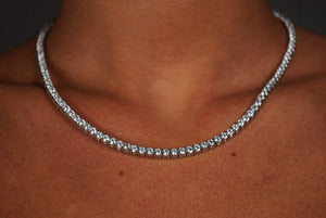 'STRAIGHT ICE' Necklace - SHOP PAIGE