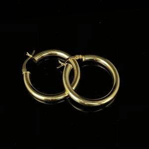'CLASSIC GOLD TUBE HOOP' - SHOP PAIGE