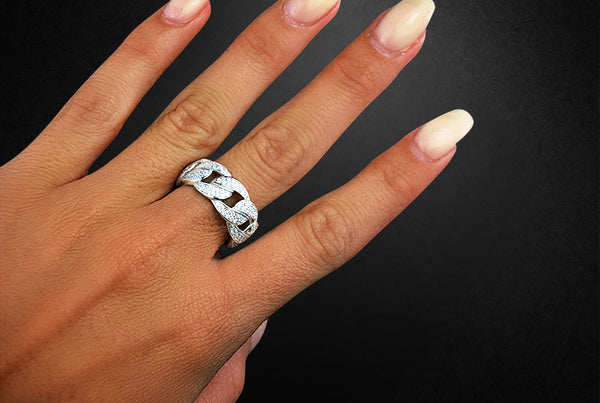 'ICED CUBAN' RING
