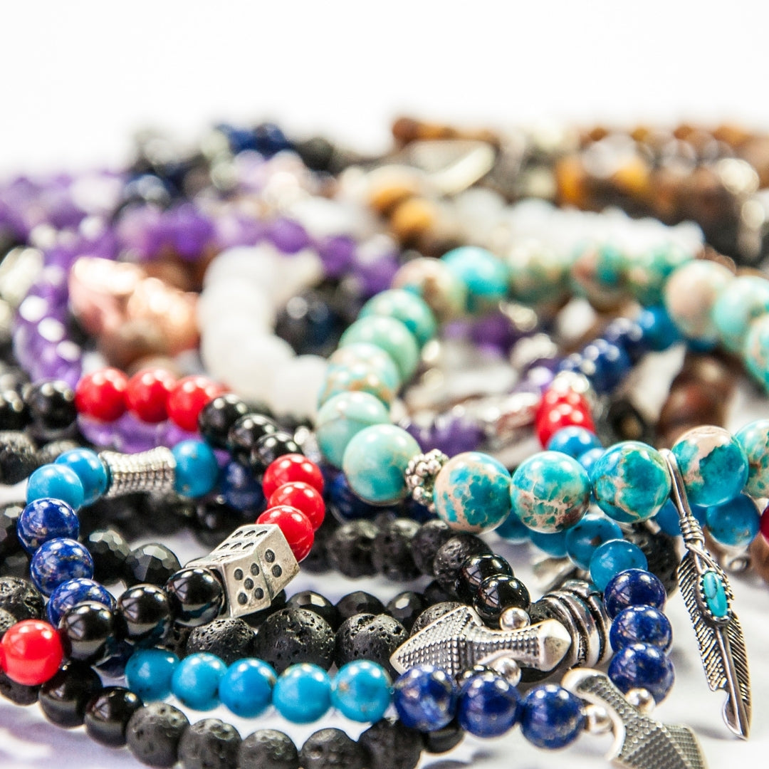 The simplest guide on how to make gemstone bead bracelets