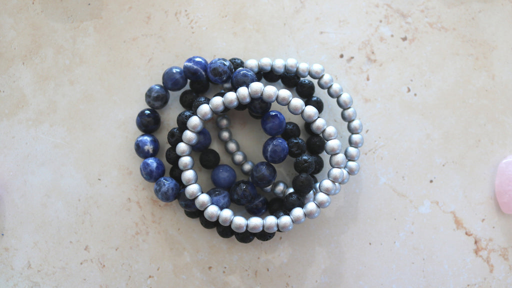 stacking bracelets made by BeadsVenture Makers Box