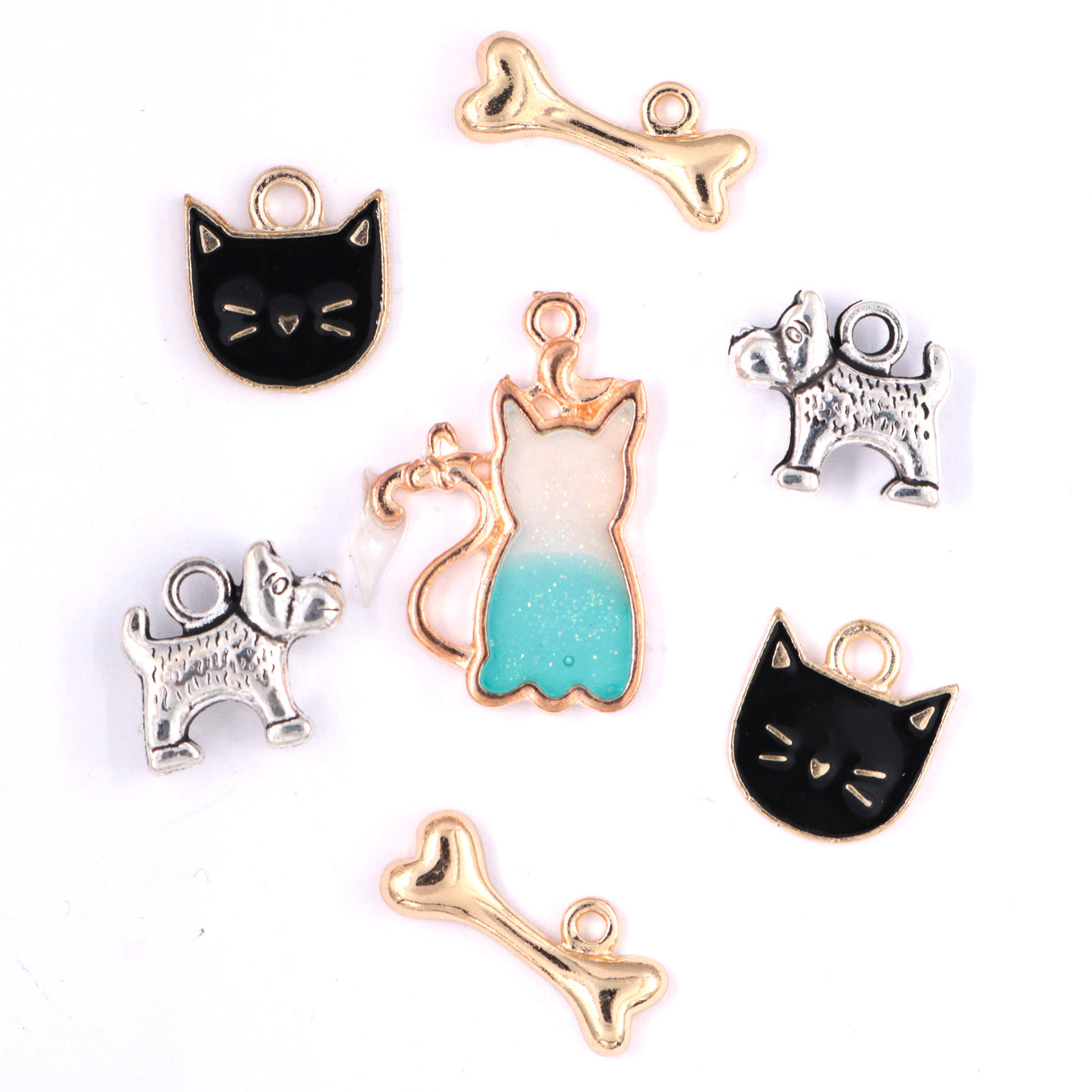 Cat and Dog Charms