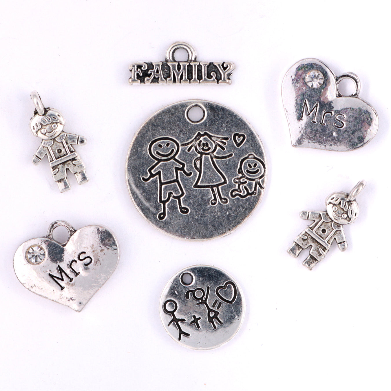 Baby and Mom Charms