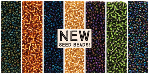 What are Seed Beads - TOHO Japanese Seed Beads