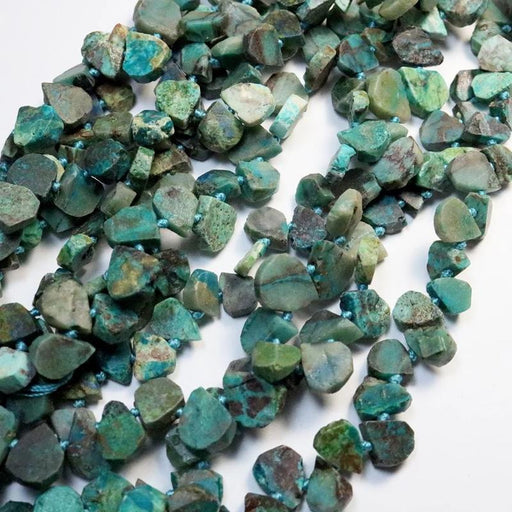 azurite gemstone beads