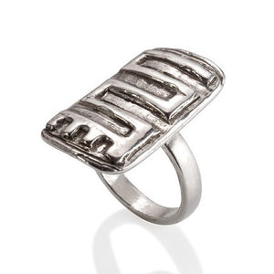 Adinkra change ring