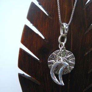 sun moon and stars necklace...