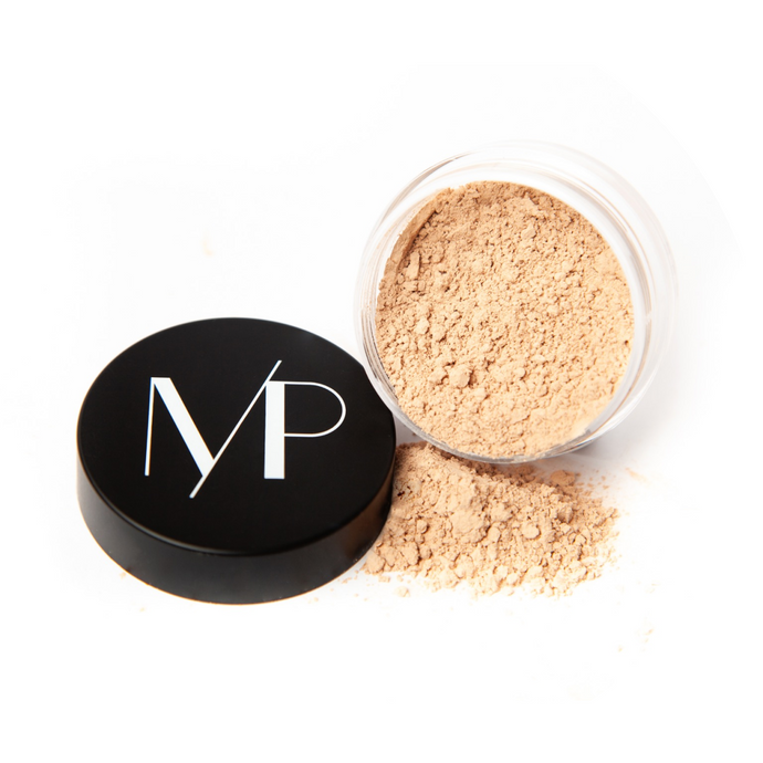 Natural Mineral Foundation Powder Makeup in Elegant