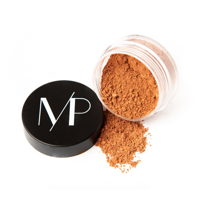 Natural Mineral Foundation Powder Makeup in Divine