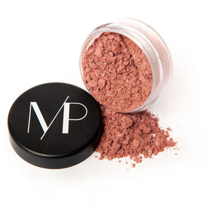 Natural Mineral Blush Powder Makeup in Dusky Rose