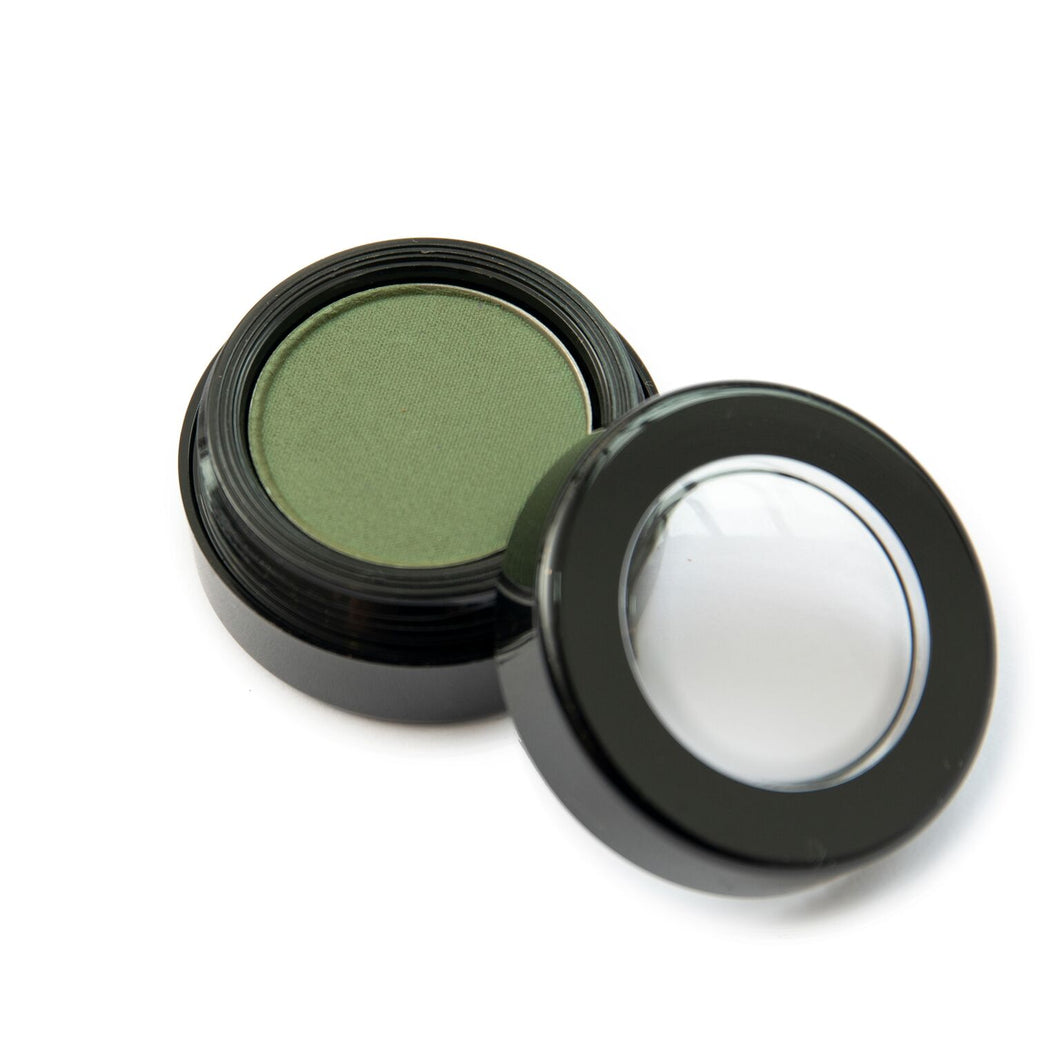 Natural Mineral Eye Shadow in Deep Marine
