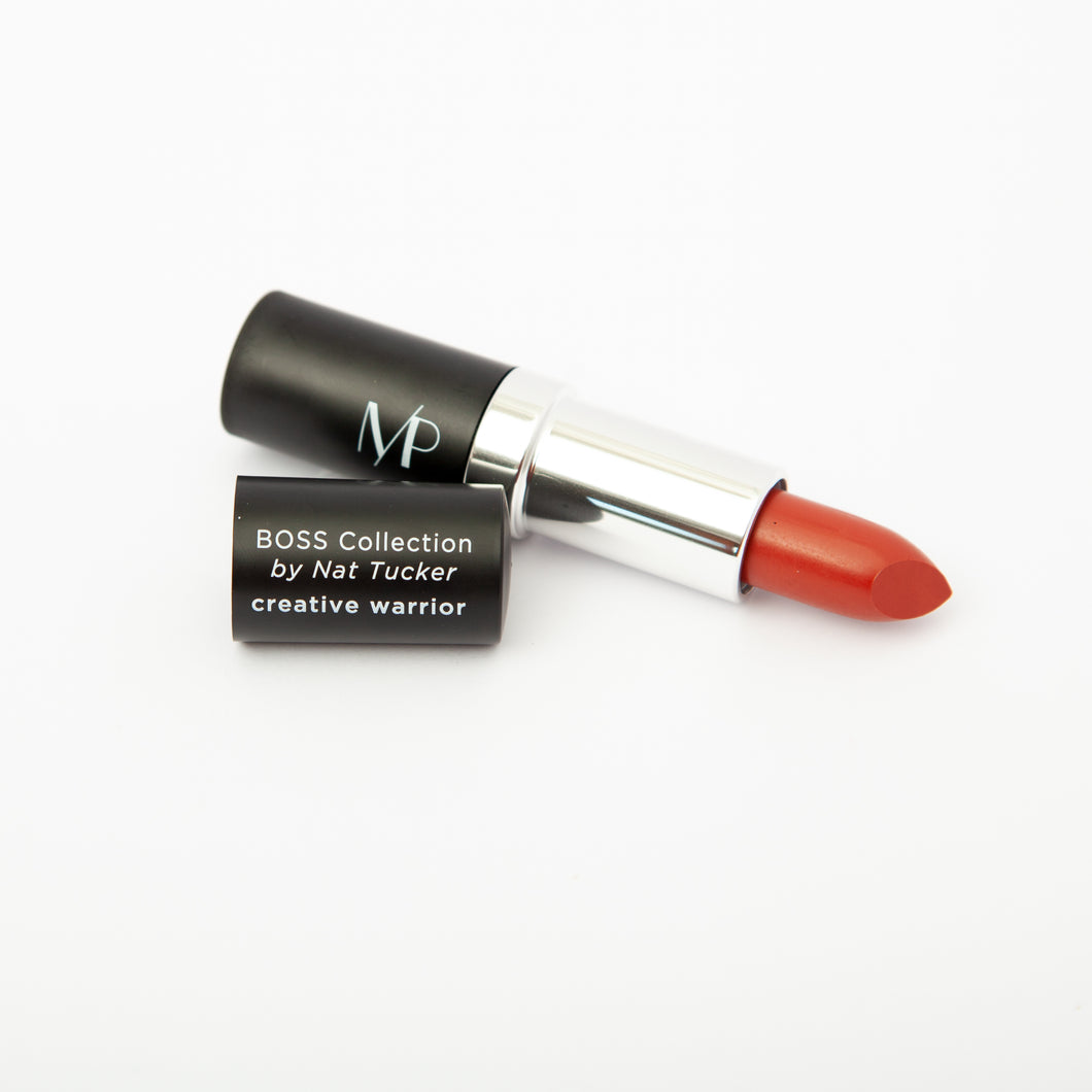Organic & Mineral Lipstick in Creative Warrior